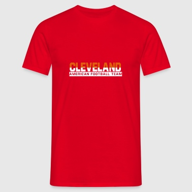 Cleveland Football - Männer T-Shirt