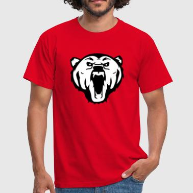bear ours polaire - T-shirt Homme
