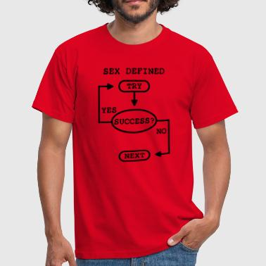 sex defined - T-shirt Homme