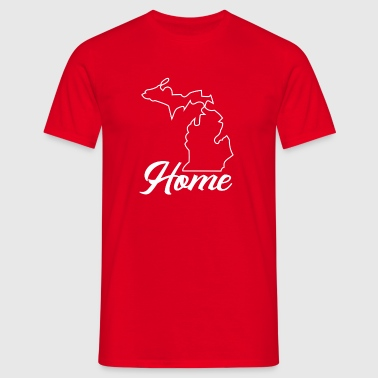 Proud to be From Michigan - Men's T-Shirt