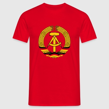DDR (GDR) Emblem - Men's T-Shirt