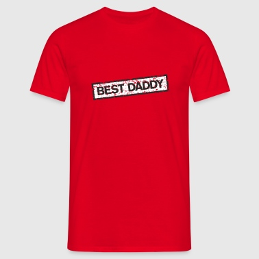 Best Daddy Stamp - Mannen T-shirt