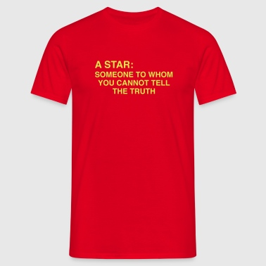 HM Murdock – Star - Men's T-Shirt