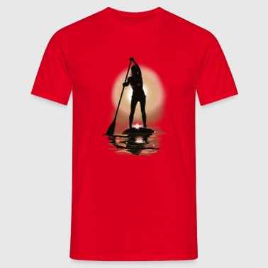 paddle boarding - Mannen T-shirt