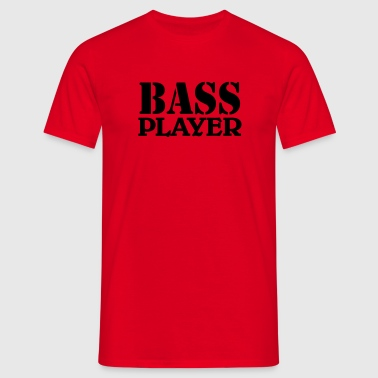 Bass Player - Herre-T-shirt
