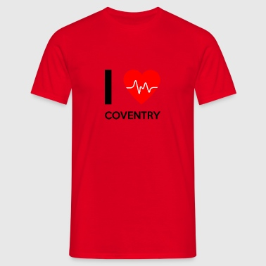 J'aime Coventry - I Love Coventry - T-shirt Homme
