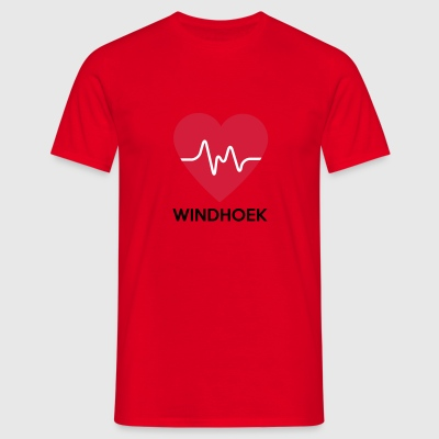 heart Windhoek - Men's T-Shirt
