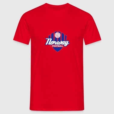 Norway Football Logo - Herre-T-shirt