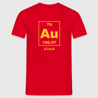 Gold (Au) (element 79) - Men's T-Shirt