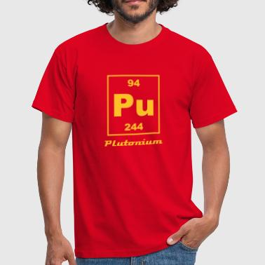 Element 94 - pu (plutonium) - Small - Herre-T-shirt