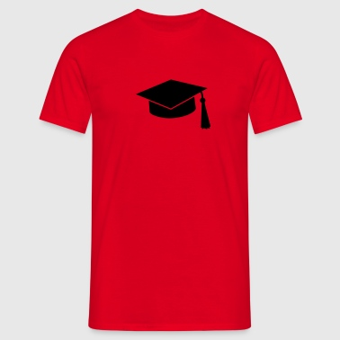 graduation hat - T-shirt Homme