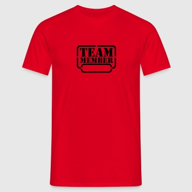 name your team member - Mannen T-shirt