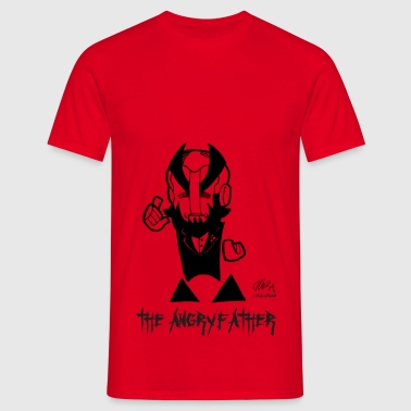THE ANGRYFATHER - Herre-T-shirt