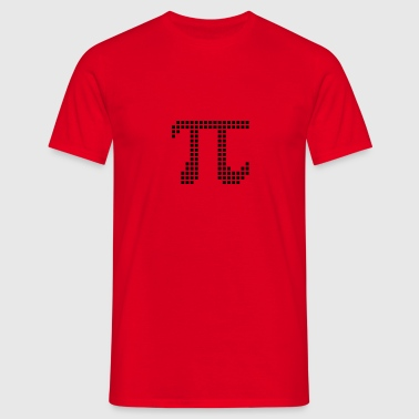 Pi Pixel Symbol - Men's T-Shirt