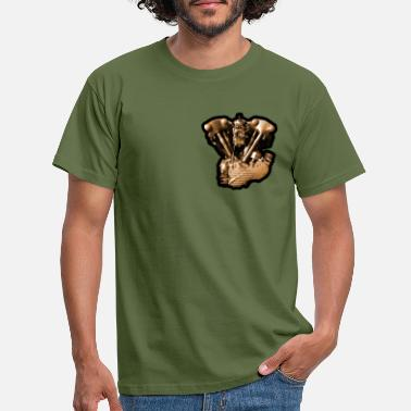 V-Engine Heart - Men's T-Shirt
