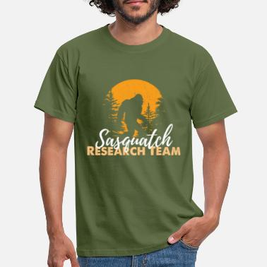 Sasquatch Sasquatch Bigfoot - T-skjorte for menn