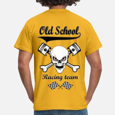 Old School Old School Racing Team 02 - T-shirt Homme