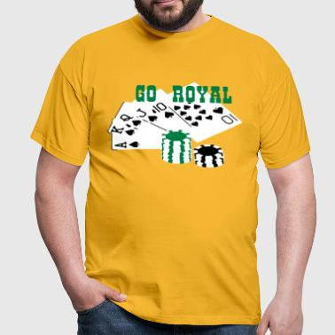 Royal Flush GO ROYAL - Männer T-Shirt