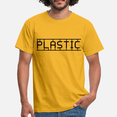 PLASTIC - Men's T-Shirt