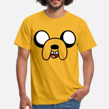 Time Adventure Time Jake Costume - T-shirt mænd