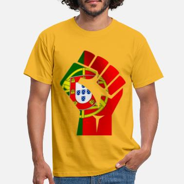 Portugal revolution portugal - T-shirt Homme