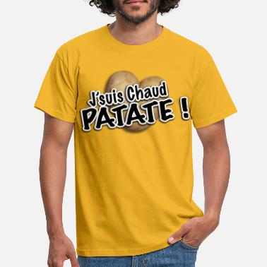 Chaud chaud patate - T-shirt Homme