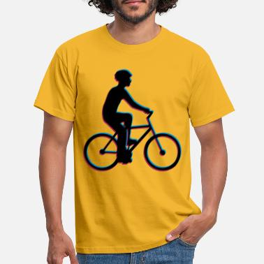 3d Bike 3D Team Sport Crew Race Bike Rider - Men's T-Shirt