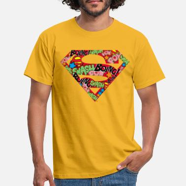 DC Comics Superman Logo Bande Dessinée - T-shirt Homme