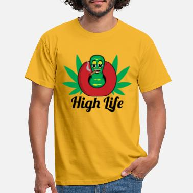 High Life High Life Worm - T-shirt Homme