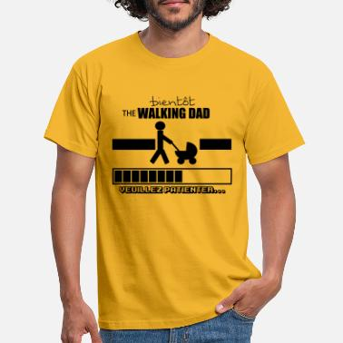 Profil bientôt the walking dad,geek,humour - T-shirt Homme