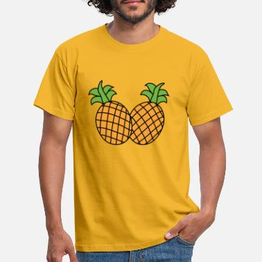 Duo Duo of pineapple - Men's T-Shirt