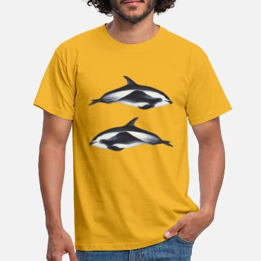 Hourglass Dolphins - Men's T-Shirt