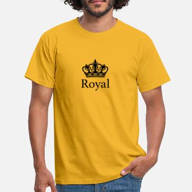 Royal Royal - Men's T-Shirt