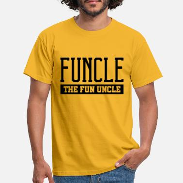 Fun funcle the fun uncle - Männer T-Shirt
