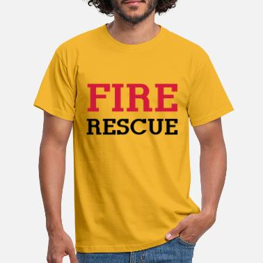 Rescue Fire Rescue - Men's T-Shirt