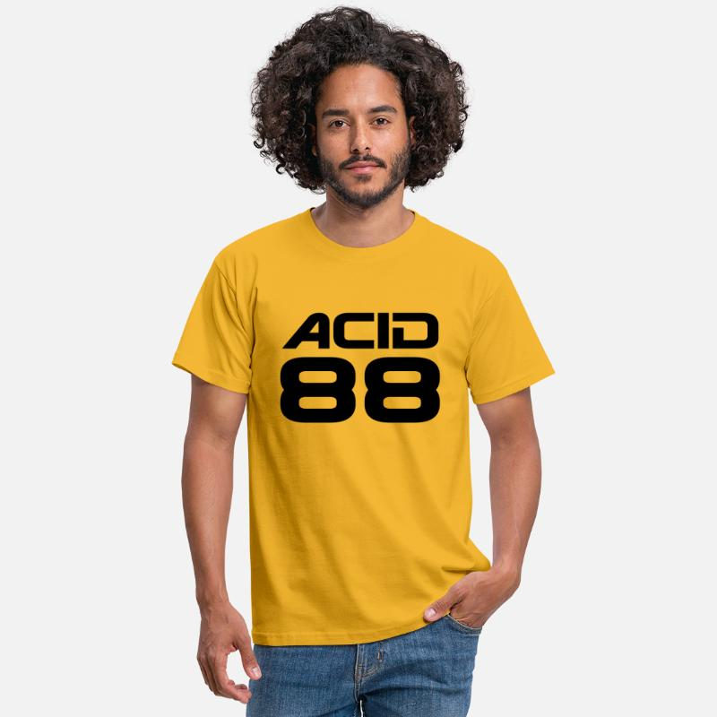 55bd1df03aa Festival T-Shirts - Acid 88 - The summer of love - Men s T-