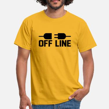 Off line - Men's T-Shirt