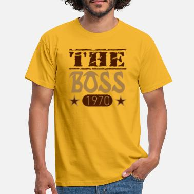 Boss The Boss 1970 08 - Mannen T-shirt