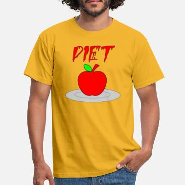 Diet diet - T-shirt herr