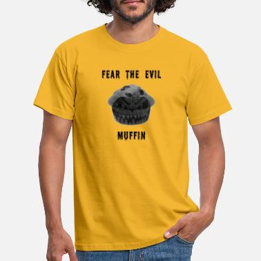 Muffin Beware of the evil muffin! | The Evil Muffin - Men's T-Shirt