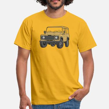 Land 110 Defender lybian Sand 4x4 - Men's T-Shirt