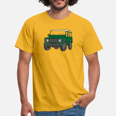 Land Rover Offroad Defender Land Rover 110 4x4 - Men's T-Shirt