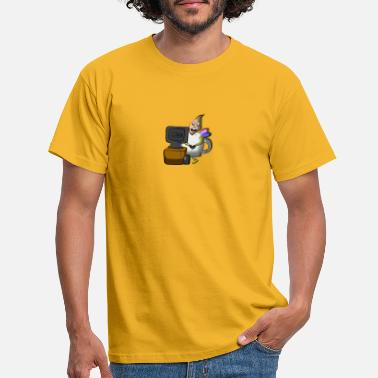 computer guy mug fairy - Men's T-Shirt