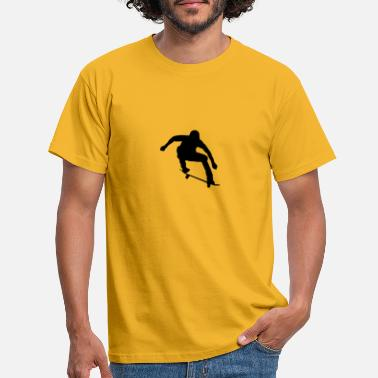 Skater (motive for personal development) - Men's T-Shirt