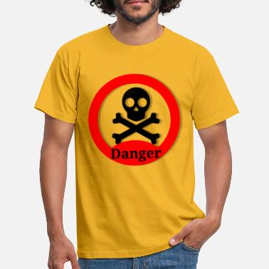 1920 danger 2324940 1920 - T-shirt Homme