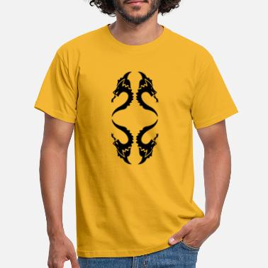 Dragon Head dragon heads - Männer T-Shirt