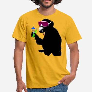 Funky funky monkey - Men's T-Shirt