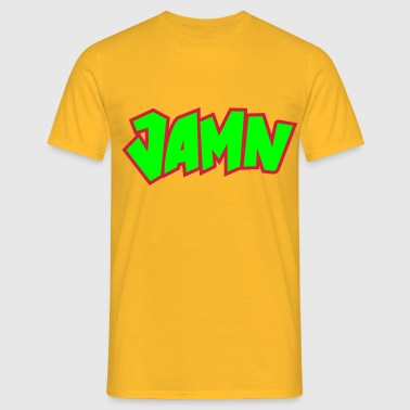 Jammin' JAMN Jamming in tha name of the Lord - Männer T-Shirt