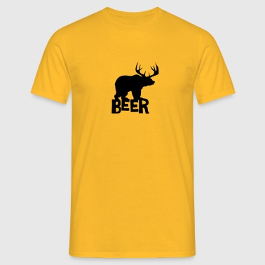Beer Satire - Men's T-Shirt