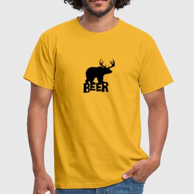 Beer Satire - Männer T-Shirt